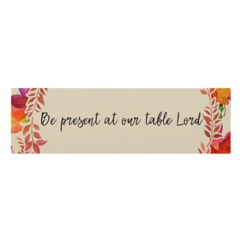 Kitchen Christian Quote Panel Wall Art