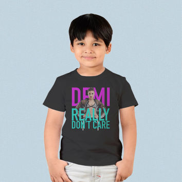 Kids T-shirt - Demi Lovato Really Dont Care