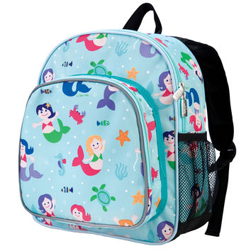 Olive Kids Mermaids Pack 'n Snack Backpack - 40081