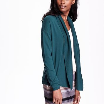Old Navy Womens Plus Open Front Cocoon Cardigans