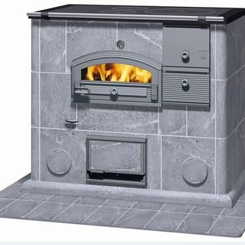 Stone Stove with Oven LLU 1250 by Tulikivi®