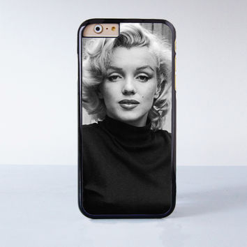 Monroe Marilyn Plastic Case Cover for Apple iPhone 4 4s 5 5s 5c 6 6s Plus