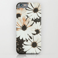 Angels - iPhone 6 - iPhone6 Plus Cases - Slim and Tough options available - Vintage Daisies - Floral Design Case