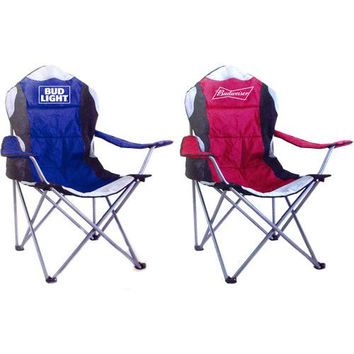 Budweiser/Bud Light Deluxe Tailgate Chairs - Assorted Brand Styles
