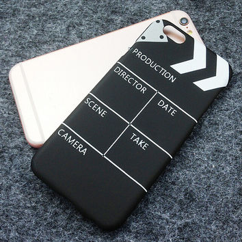 Movie Clapperboard Originality iPhone 7 se 5s 6 6s Plus Case + Gift Box