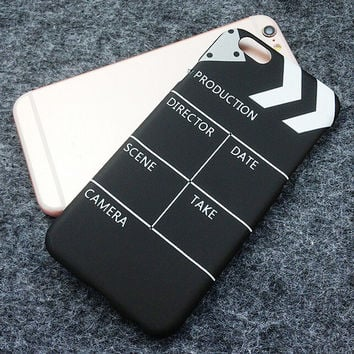 Movie Clapperboard Originality Case for iPhone 7 7Plus & iPhone 6s 6 Plus & iPhone X 8 Plus with Gift Box