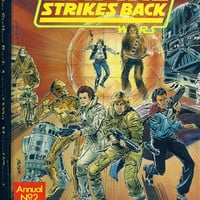 Star Wars, The Empire Strikes Back Comic Annual No 2 1982, 1st Edition.