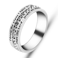 Bible Verse Rings - Jeremiah 29:11