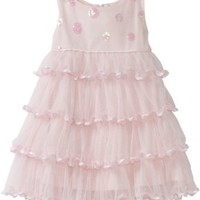 Biscotti Baby Girls' Soiree Sparkle Dress, Pink, 24 Months