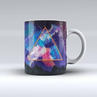The Trilateral Eternal Space ink-Fuzed Ceramic Coffee Mug