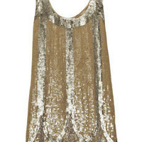 Rachel Gilbert Addison sequined cotton mini dress - 60% Off Now at THE OUTNET