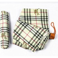 ONETOW Burberry Folding Umbrella