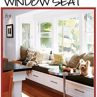 Built-in DOG Beds & Dog Houses: Window Seats, Banquettes & Kitchen Cabinets â?? Interior Design Hound
