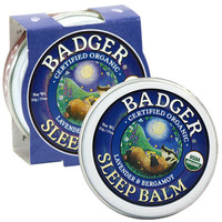 Badger Balm - Sleep Balm Organic Lavender & Bergamot Soothing Temple Rub 21g