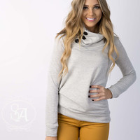 Crushin' Cowl Neck Sweater