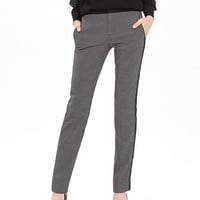 Banana Republic Piped Jacquard Slim Ankle Pant