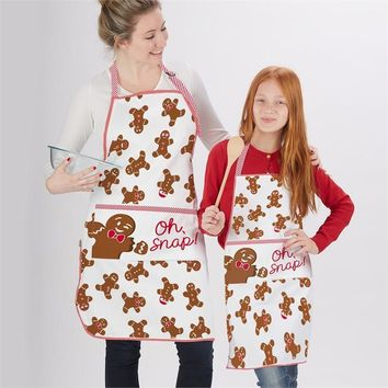 Gingerbread Aprons - Set of Two