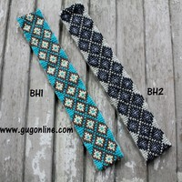 Aztec Beaded Headbands