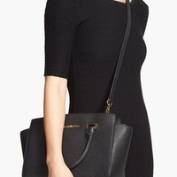 MICHAEL Michael Kors 'Selma Medium' Zip Top Satchel | Nordstrom