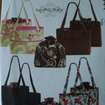 McCalls M5944 Bags & Totes Sewing Pattern