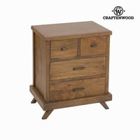 Bedside table amara - Ellegance Collection by Craften Wood