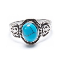 Brandy ♥ Melville | Vintage Teal Stone Ring - Rings - Jewelry - Accessories