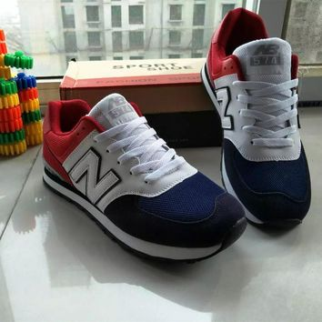 """""""New Balance"""" Fashion Casual All-match Male Female N Words Breathable Couple Sneakers"""
