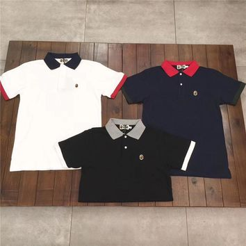 Bape hit the color POLO shirt [11192331079]