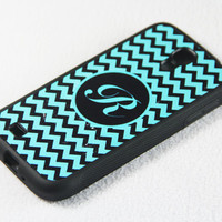 Stylish Monogram Chevron Samsung Galaxy S4 + S3 Rubber Case and S2 NOTE 2 Hard Cover Case