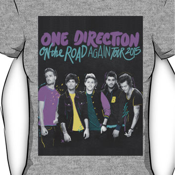 One Direction On The Road Again Tour 2015 Women's T-Shirt