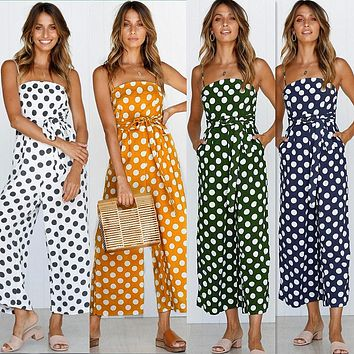 POLKA DOT PARTY JUMPSUIT