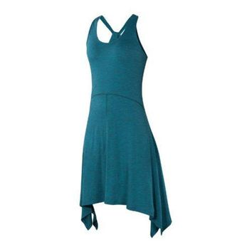 Women's Ibex Carmen Dress Scuba Heather | Overstock.com Shopping - The Best Deals on Casual Dresses