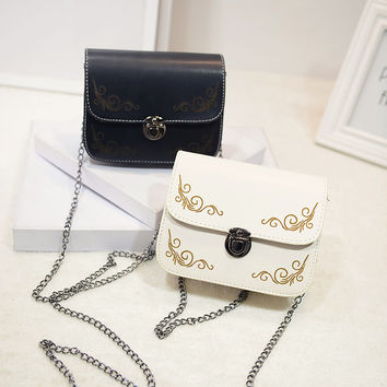 Stylish Jewelry New Arrival Gift Shiny Korean Vintage Totem Bags Mini One Shoulder Necklace [6582450951]