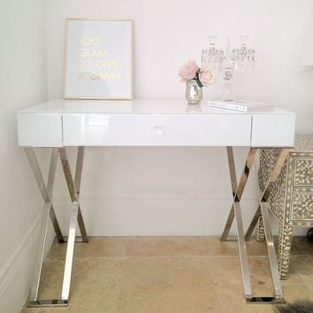Iced White Dressing Table