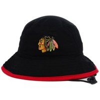New Era Chicago Blackhawks Basic Tipped Bucket Hat | macys.com