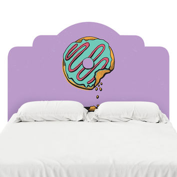 Donut Shop Headboard Decal