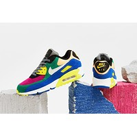 "Air Max 90 QS ""Viotech"" Lucid Green/Barely Grey-Game Royal"