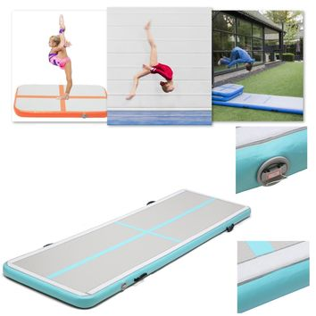 118x39x4inch Airtrack Air Track Floor Home Inflatable Gymnastics Tumbling Mat GYM NEW