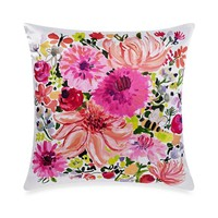 kate spade new york Eyelet Medallion Dahlia Square Throw Pillow