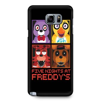 Five Nights At Freddy S Group Samsung Galaxy Note 5 Case