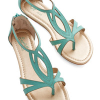 Seychelles Concentrate Sandal in Emerald