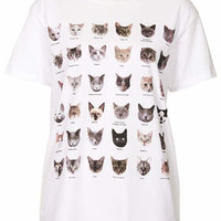 CATS TEE BY TEE AND CAKE