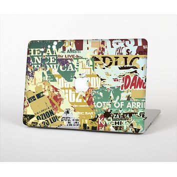 The Torn Magazine Collage Skin Set for the Apple MacBook Air 11""