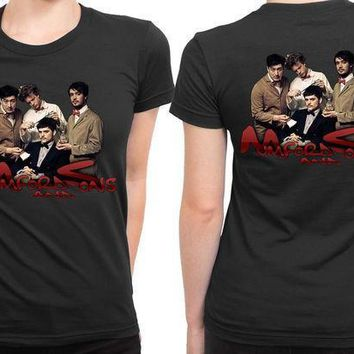 Mumford And Sons Cover 2 Sided Womens T Shirt