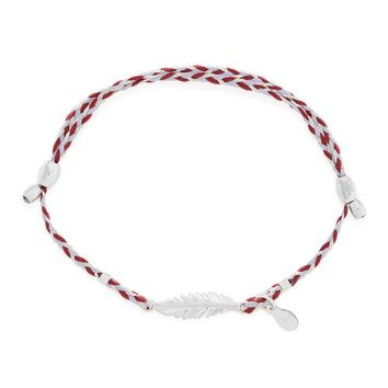 Feather Precious Threads Bracelet