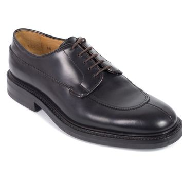 Church's Dark Brown Lace-Up Leather Bookbinder Oxfords