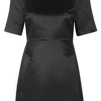 Satin A-Line Dress - Topshop