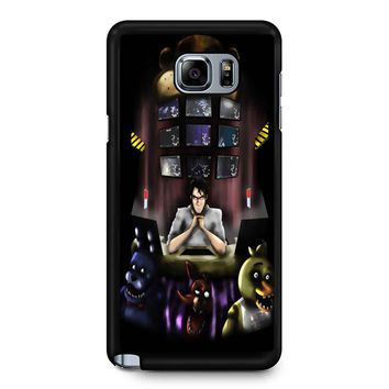 Five Nights At Freddy S 5 Samsung Galaxy Note 5 Case