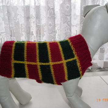 "xxs dog sweater hand knit xs 8.5"" teacup chihuahua etc.xs dog sweater, small dog coat, xs dog clothing"