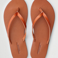 AEO Simple Thong Flip Flop, Tan
